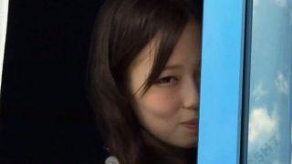 【マジックミラー号】MM号で浮気!チ○ポ大好きの淫乱ショップ店員!(水野咲希)