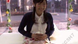【マジックミラー号】レースのパンティがカワ(.∀.)イイ!!お嬢様のオマ○コくぱぁ!(えり))