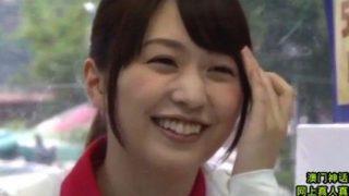 【マジックミラー号】笑顔がカワイイ水泳部のマドンナと先輩の初SEX!(桜木優希音)<企画/素人>