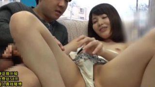 【マジックミラー号】「オマ○コ触ってみる…?」若妻さんが手取り足取りSEX講習!(橘花音)