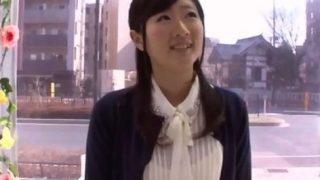 【マジックミラー号】レースのパンティがカワイイお嬢様のオマ○コくぱぁ!(えり)