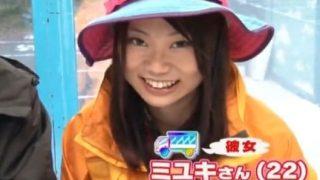 【MM号】彼氏の前で膣内射精されちゃうウブな山ガール!(北乃優子)