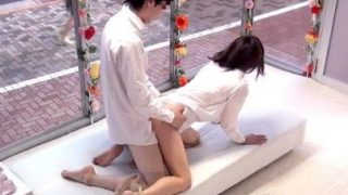 【MM号】『先輩…気持ちいいっすか…?』部下のピストンに感じちゃう先輩OLwww(菊見さおり).