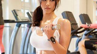 『武藤あやか』割れる腹筋に興奮したジムの施術師にハメられちゃう巨乳美女!*