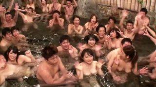 【バコバス2013】世界一豪華なガチ素人16人とAV女優16名のハメまくりツアー!.