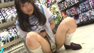【企画】女子大生に制服コスさせて特大ローターを膣に挿入して羞恥プレイ!