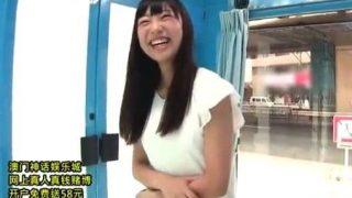 〔桐谷まつり〕AVデビュー作!秋田出身の色白Hカップ巨乳娘www