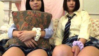 〔素人〕SNSで知り合った巨乳女○高生2人組とラブホで援○セックス!