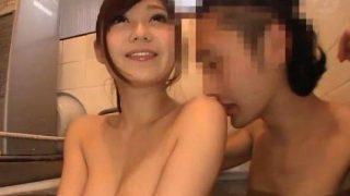 〔石原莉奈〕SSS級のAV女優が素人宅にお邪魔してお風呂に入ってフェラ!
