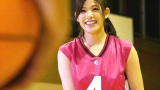 〔星井笑〕バスケットボール歴12年の巨乳娘を体育館でハメる!