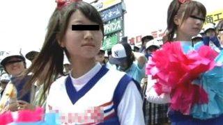 〔島崎綾〕夏の甲子園でネットが沸いた某校のチア娘がカメラの前でSEXを披露!