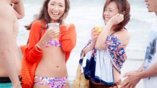 真夏の海岸でナンパしたギャルちゃん達とツイスターゲームで盛り上がる!【素人】
