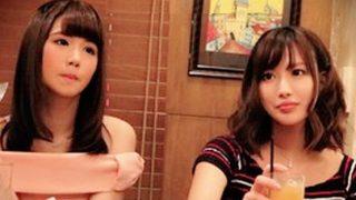 【盗撮】大人気シリーズ相席居酒屋!ガッツリ肩出してる系の服着てる娘は99%エロい!