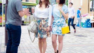 繁華街で買い物中の母娘をナンパ!娘の見ている前でオマ○コを晒させる!【企画】
