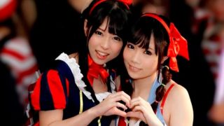 ハロウィンで渋谷にいたロリっ娘たちが酔った勢いで初めてのレズに挑戦!!〔企画〕