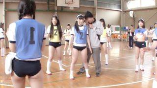 タイムストップ!女子校の球技大会に潜入してJKをレ○プする男!〔企画〕