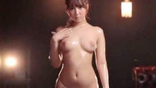 〔三上悠亜〕蒸れた豊満くびれボディ!元SKE48と唾液交換ベロ舐め接吻!