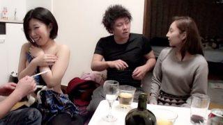 ヤリチン男2人が相席居酒屋で出会った可愛い女の子2人組をお持ち帰り!〔盗撮〕