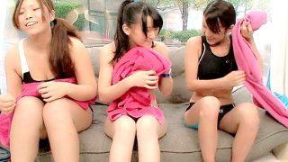 【MM号】健康的な日焼けおっぱいがエッチな美少女ロリ娘とセックス!