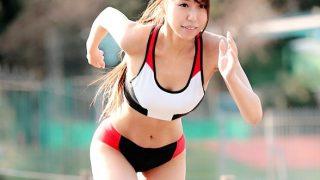 〔素人〕体脂肪率が女性では驚異の12%❗陸上競技歴11年の美女スプリンターと濃厚SEX♥