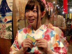 5千円キャッシュバックに釣られてやって来た晴れ着姿の巨乳ちゃんを脱がせる!〔企画〕