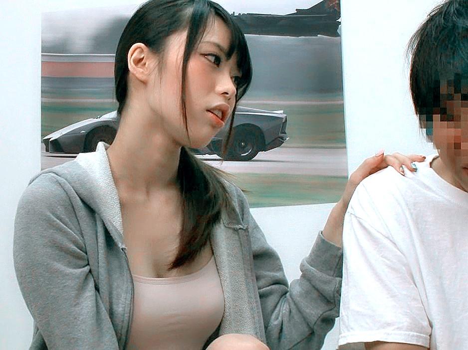 弟の包茎を見て欲情する美人な変態姉!!▼川菜美鈴(かわなみすず)▼