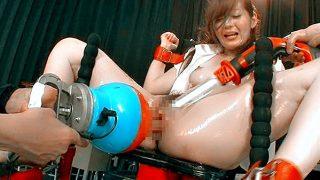 〔石原莉奈〕「先生…気持ちいいんだ~?」新任女教師を電マや機械で調教する男子生徒たち!