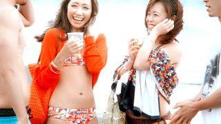 夏のビーチでナンパした水着ギャルたちとHなツイスターゲームで大盛り上がり!〔企画〕