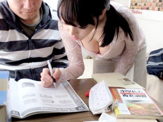 生徒の部屋でレ●プされてしまったデカパイ先生‼★★浜崎真緒(はまさきまお)★★
