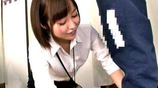 〔企画〕畳み1畳程の試着室で裾上げしてもらったら股間から3cmに女性店員の顔が急接近!
