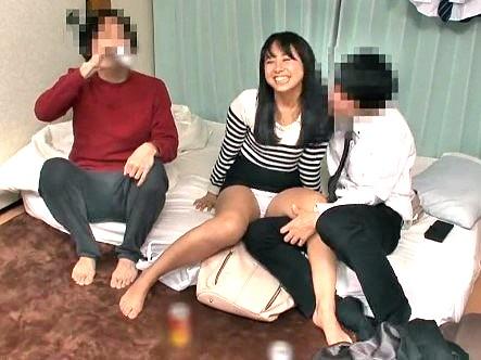 ▼素人▼友達彼女のパンチラに勃起しまくり‼宅飲み二次会で寝取りセックス‼