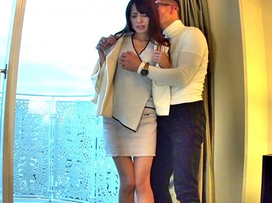☆企画☆スレンダー美人妻をホテルでNTRファック‼★★大石香織(おおいしかおり)★★