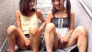 〔企画〕合法ロリ動画♥踊り場で繰り返されるパイパン少女たちの美しい肢体❗