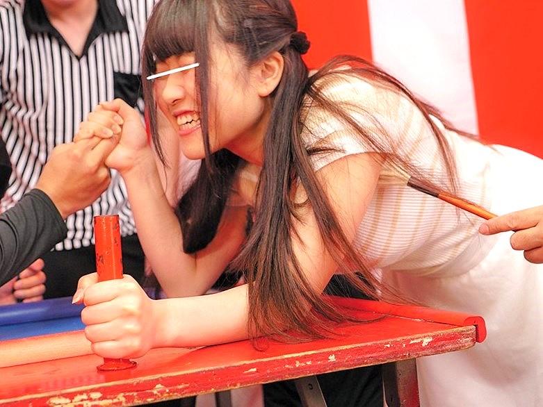 腕相撲に負けて罰ゲームSEX‼★★涼海みさ(すずみみさ)★★