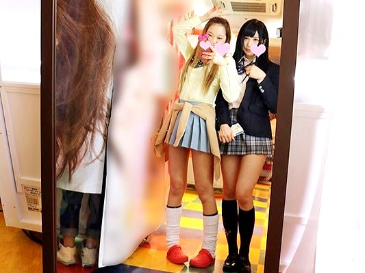 ギャル女●高生たちとSEX‼★★千夏南那(ちなつなな)・白石雪愛(しらいしゆきめ)★★