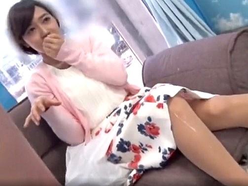 〔MM号〕新卒社会人のお姉さんをナンパ♥早漏くんにザーメンを脚に掛けられちゃってドン引き❗