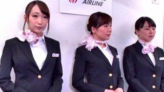〔企画〕SEXのハードルが異常に低い世界‼「快感な空の旅をお約束します♥」美人CAさんたちの中出しSEX機内サービスがある航空会社❗