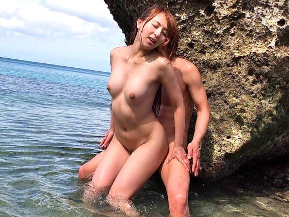☆野外☆綺麗な海でドキドキのセックスをしよう!!★★希崎 ジェシカ(きざきじぇしか)/女優★★