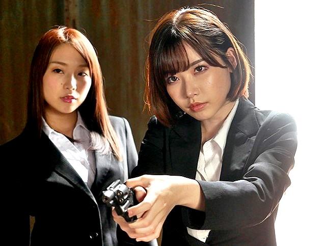 ◆レズ美人捜査官たち▼▽深田えいみ▽▼