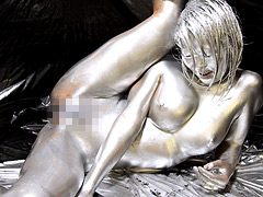 SILVER PAINTING010