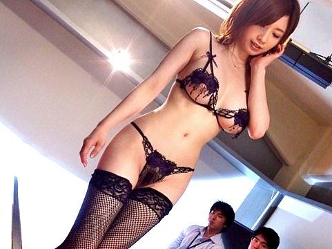 ☆陵辱☆デカパイOLをセクハラする上司たち!!★★奥田咲(おくださき)/女優★☆★