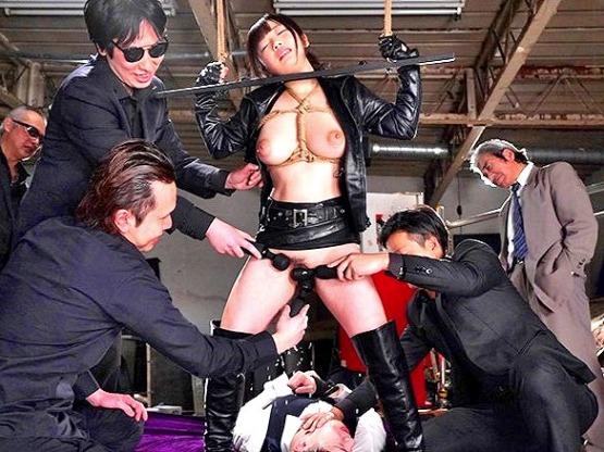 ◇無料動画◆爆乳エージェントを縛って輪姦す◇羽咲 みはる(うさみはる)◆58:49