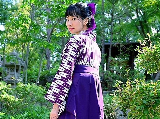 〔伊賀まこ〕袴姿の美少女‼邪魔なモザイクを排除した絶品ヌードを堪能♥※この作品はイメージビデオです
